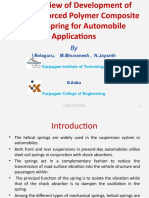 An Overview of Development of Fiber Reinforced Polymer Composite Coiled Spring for Automobile Applications