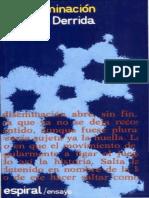 Derrida Jacques - La Diseminacion.pdf
