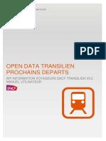 Guide d'utilisation API Temps Réel Transilien