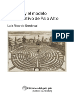 Sandoval Bateson y El Modelo Comunicativo de Palo Alto
