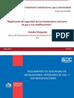 Reglamento de Seguridad de Las Instalaciones Interiores de Gas y Sus Modificaciones Claudia Melgarejo SEC1