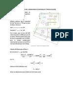 Calculo de La Capacidad Del Laboratorio de Materiales y Procesos