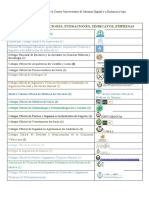 Convenios Suscritos Con El Centro Universitario de Idiomas Digital y a Distancia Para La Web