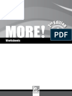 MORE! 1 Second Edition Worksheets.pdf