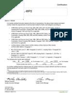 certificado liquidos penetrantes
