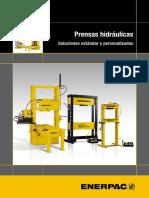 9319 Es Hydraulic Presses Brochure Lr