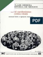 10. En el cardenismo [1934-1940]