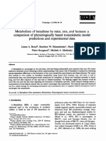 TOXICOLOGY-Metabolism of butadiene by mice, rats, and humans.pdf