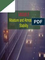 Moisture and Humidity
