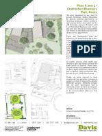 0172 230 Davis Landscape Architecture Chelmsford Business Park Commercial Landscape Architect Planning Tender Data Sheet 1