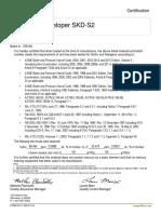 certificado revelador skd-s 2