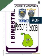 Inicial Peritas Personal Social - I Bim