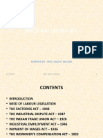 Industrial Legislation