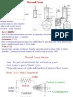 Siklus Thermal Pembangkit