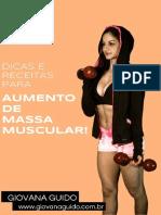 Guia Receitas Aumento de Massa Muscular