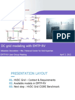 DC Grid Modeling EMTP-RV UGM April 3 2012