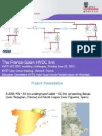 RTE-The France Spain HVDC Link