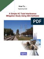 EStudio de Mitigación de Interferencia AC