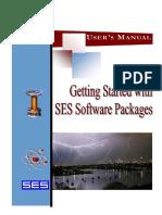 Get Start SES-CDEGS