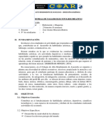Plan de Taller de Maqueta