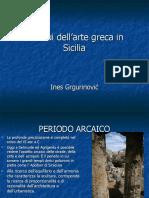 Residui Dell'Arte Greca in Sicilia