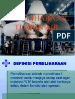 Pemeliharaan Turbin Air