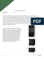 Nokia 7750 SR Series Data Sheet En