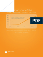 Snapshot of Onsite Freelance Contract Workforce