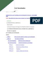 Ley General de Sociedades 26887