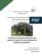 Estudio de Mejoras Mediante Lean Manufacturing en Una Cooperativa AgrÃ-cola Olivarera