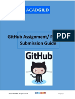 GitHub Assignment Submission Guide
