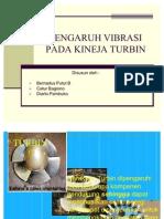 Pengaruh Vibrasi Pada Kineja Turbin