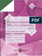 JURISPRUDENCIA - Principais Julgados do STF e STJ Comentados 2015-1.pdf