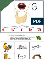 punto articulatorio g - palabras con g.pptx