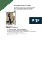 Ejercicios para Desarrollar Músculos del Pie y la Pierna