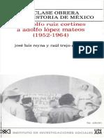 12. De Adolfo Ruiz Cortines a Adolfo López Mateos