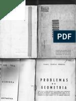 Problemas de Geometria Para o Curso Ginasial_Comte. Paulo Pessoa