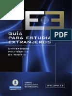 Guia Para Estudiantes Extranjeros - Spanish