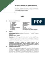 Sílabo de Macroeconomía 2017-2