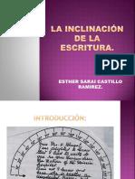La Inclinación de La Escritura
