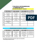 Horario IIII trimestre 17, Grado, EMUSA, Prof y Lic sabatino.pdf