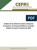 Analisis de Los Informes q4 2015