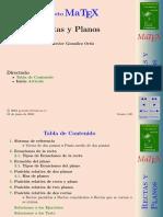 Rectas y Planos -  Fco  Javier  Gonzalez  Ortiz