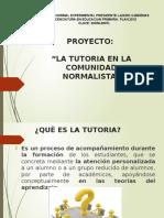 Proyecto de Tutorias LEP 2012