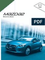 Mazda 2 2015 Owners Manual RO