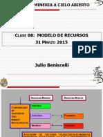 IMM 2013 Mineria a Cielo Abierto UC 2-2015 Clase 8