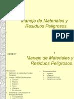 Manejo de Materiales Peligrosos (5)