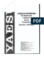 Yaesu System 600 Scanned Operating Manual