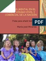 LA SALUD MENTAL EN EL NUEVO CÓDIGO CIVIl - clase II.ppt