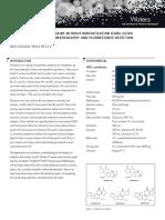 Analysis of Aflatox Ins